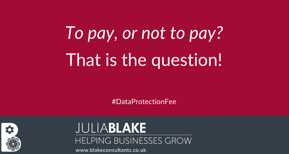 Data Protection Fee